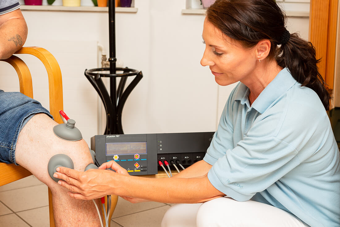 Hausarzt Bernhardsthal - Neugebauer - Physiotherapie in unserer Praxis